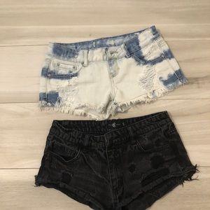 Pants - Lot of 2 Shorts small